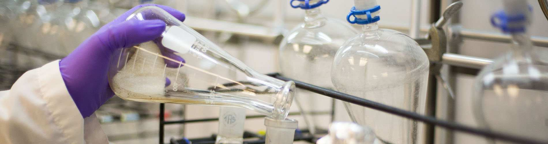 lab equipment in a lab