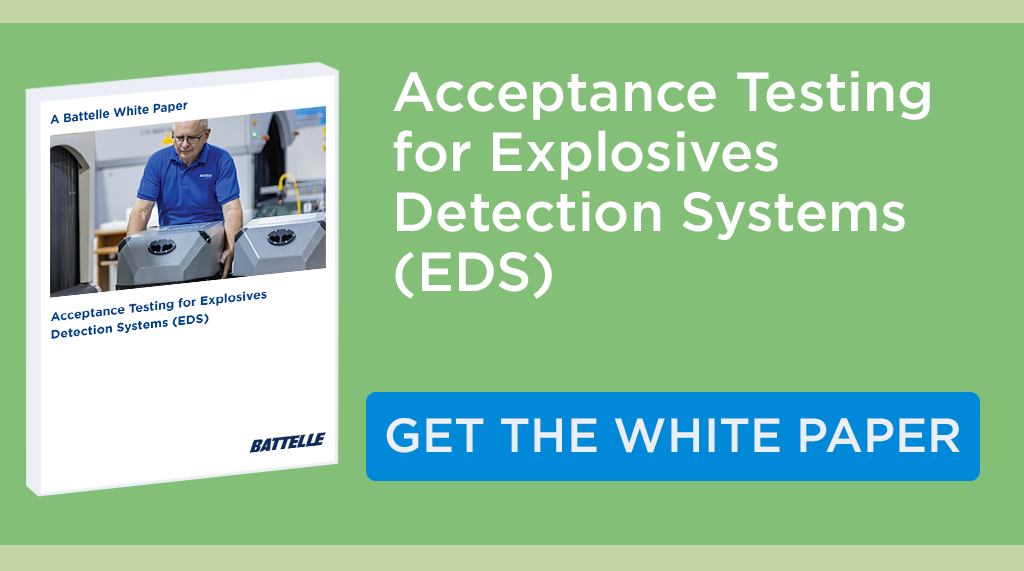 Acceptance Testing Explosives White Paper