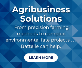 Ad: From  precision farming methods to complex environmental fate projects . . . Battelle can help.
