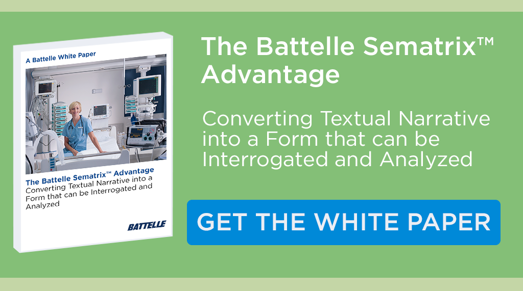 Battelle Sematrix White Paper