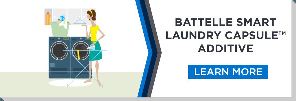 Smart Laundry Capsule Additive Infographic