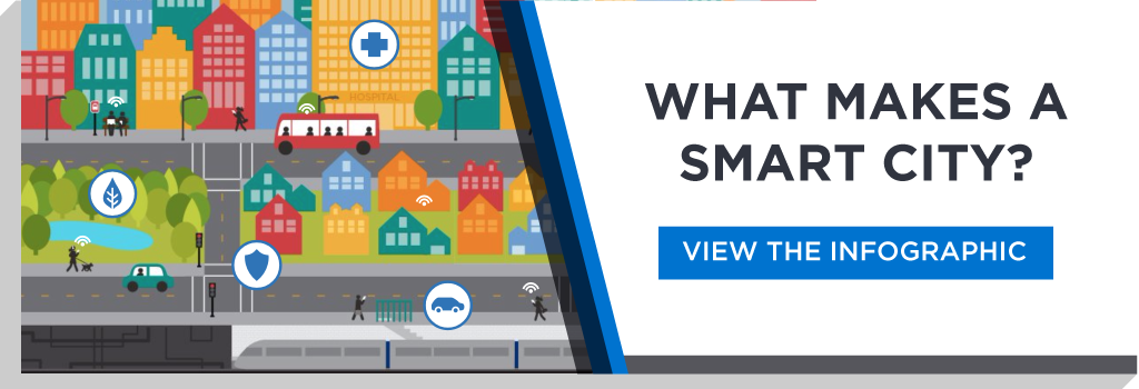 What Makes a Smart City Infographic