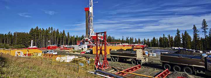 Drilling site.