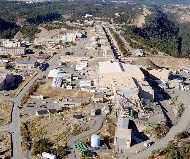 Los Alamos National Lab aerial photo